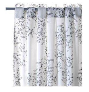 tree curtains ikea ikea white black tree leaf birds window sheer curtain