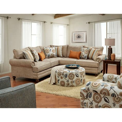miskelly living room furniture fusion furniture 2826 2827 stationary living room group
