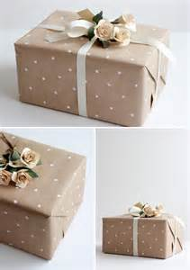 Modern Gift Wrapping Ideas - wedding gift wrap ideas lovelustered
