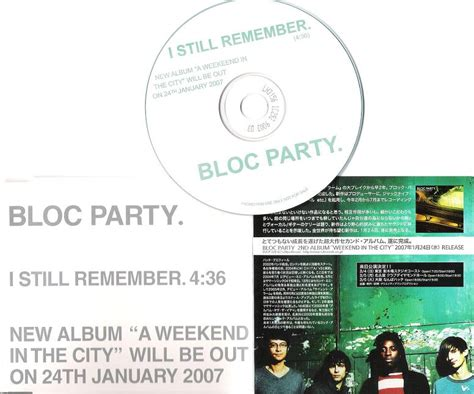 i still remember bloc party bloc party i still remember vinyl records lp cd on cdandlp
