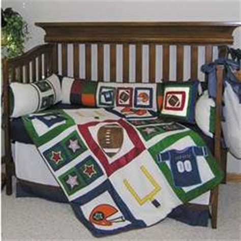 Football Crib Bedding Set Football Baby Crib Bedding Set Findgift