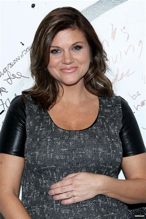 tiffani thiessen pregnant tiffani thiessen at aol studios in new york