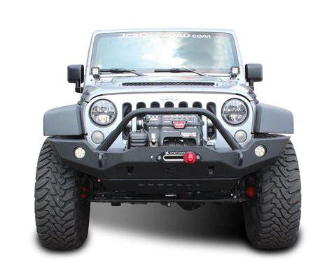 jeep prerunner bumper jk front bumper vanguard full width jeep wrangler 07 18