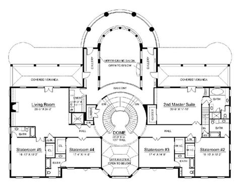 historic house floor plans european home with 6 bdrms 9032 sq ft house