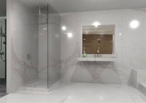 calacatta porcelain tile   Home Decor