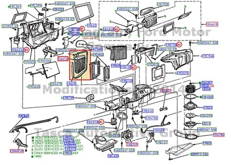 New Oem Auxiliary Heater Core 1998 02 Ford Expedition 1999