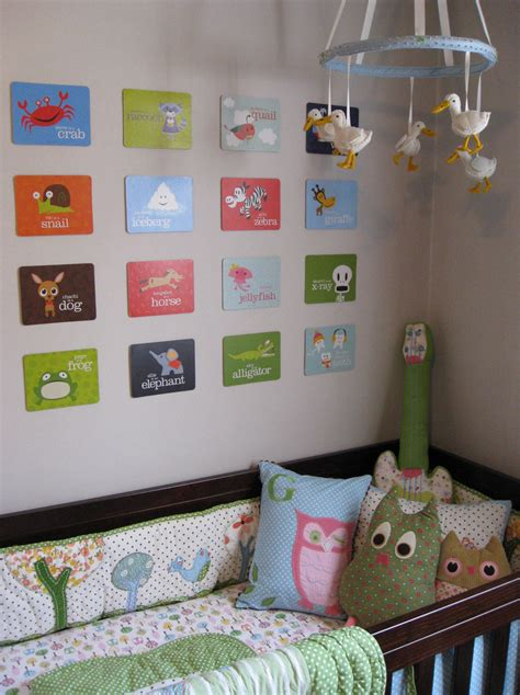Baby Nursery Wall Decor Ideas Nursery Wall Ideas For Above The Crib