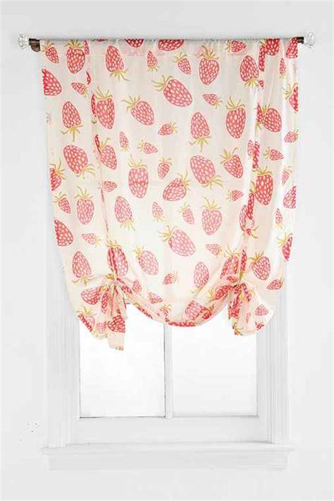 draped shade curtain plum bow strawberry draped shade curtain urban outfitters