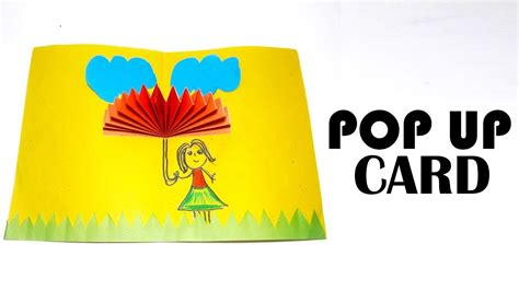 How To Make A Paper Pop Up - how to make a paper pop up card amazing pop up card