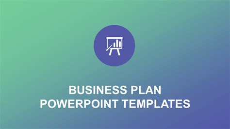 presenting a business template business planning powerpoint presentation templates