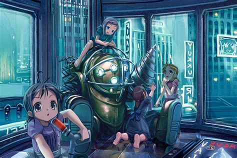 bioshock amazing hd wallpapers high resolution  hd