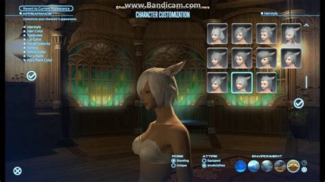 ffxiv all new hairstyles 3 0 ffxiv new hairstyles patch 3 4 female youtube