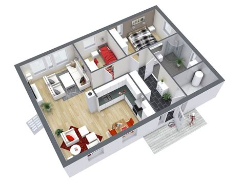 House Plans Online 220 Bersicht Roomsketcher