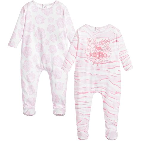 Sc2810 Tiger Pink Set kenzo baby pink tiger gift set childrensalon