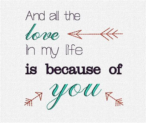quotes about pattern design all the love quote embroidery machine pattern design