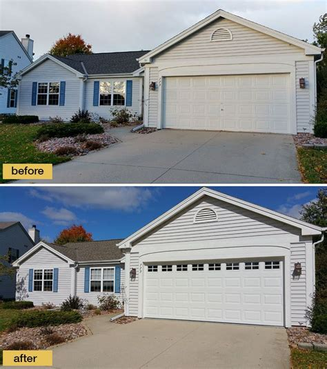 Adding Windows In Garage Doors - adding windows to your garage door is a small change that