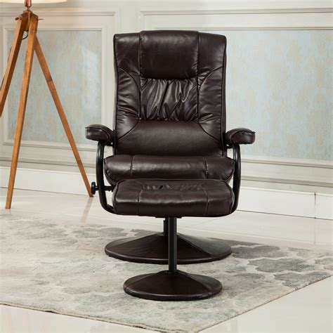 Armchair With Footrest by Recliner Chair Swivel Armchair Lounge Seat W Footrest