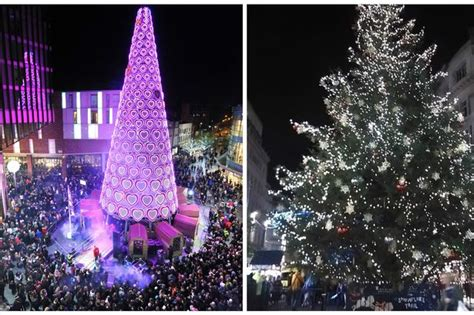 real christmas trees liverpool a tale of two trees echo readers say they prefer church tree liverpool news