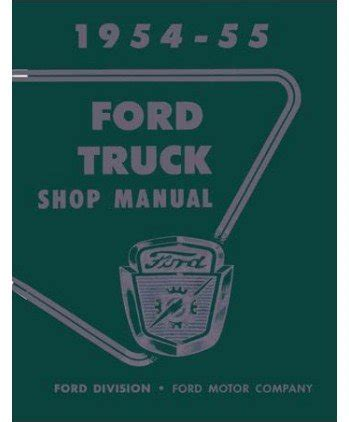 service manual books about how cars work 1954 chevrolet corvette electronic valve timing 1954 1955 ford truck shop service repair manual book software automotive parts