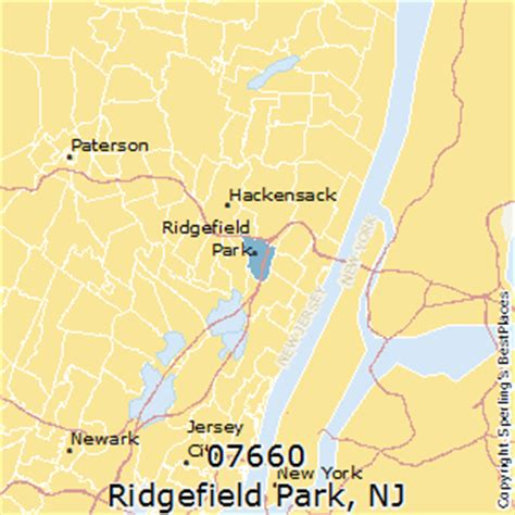 places    ridgefield park zip   jersey