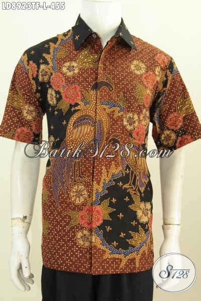 Premium Baju Kemeja Batik Slim Fit Gal14 Batik Pria Slimfit model baju batik pria slim fit kemeja lengan pendek