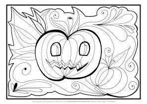 halloween coloring pdf coloring