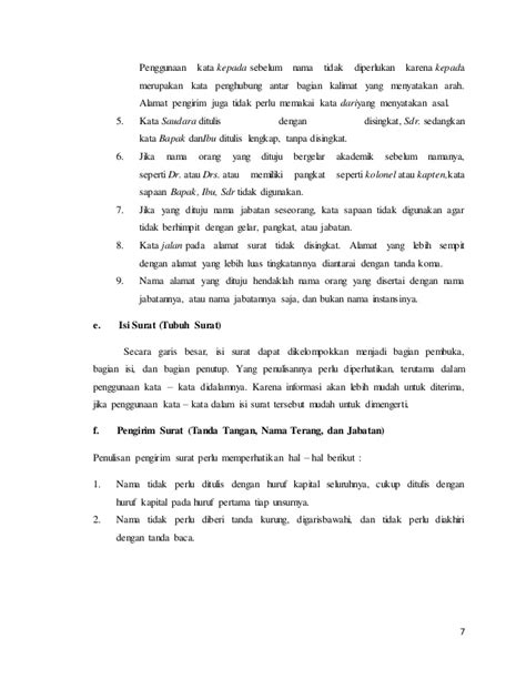 makalah layout perusahaan contoh makalah surat elektronik surat 29