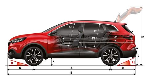 Garage Dimensions 3 Car by Renault Kadjar
