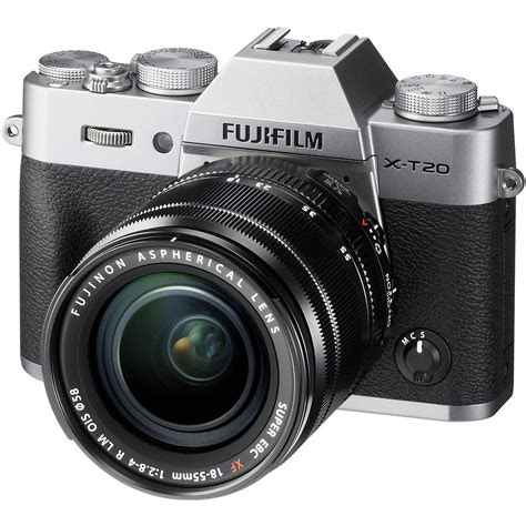fujifilm frame mirrorless fujifilm x t20 mirrorless digital with 18 55mm 16542622