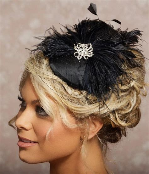 Hairstyles For Hats Black by Black Birdcage Veil Fascinator Cocktail Hat Black