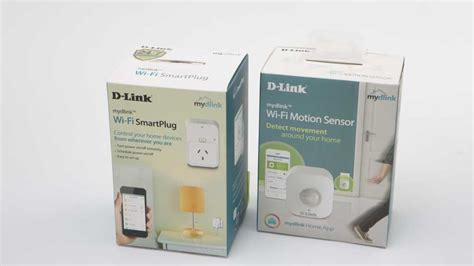 d link dch 109kt diy smart sensor kit home automation