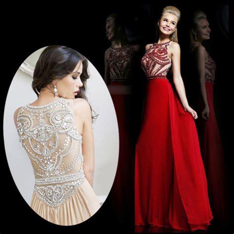 Aliexpress.com : Buy New Arrival Sexy Vestidos de Fiesta Heavy Crystal Hand Made Beading See