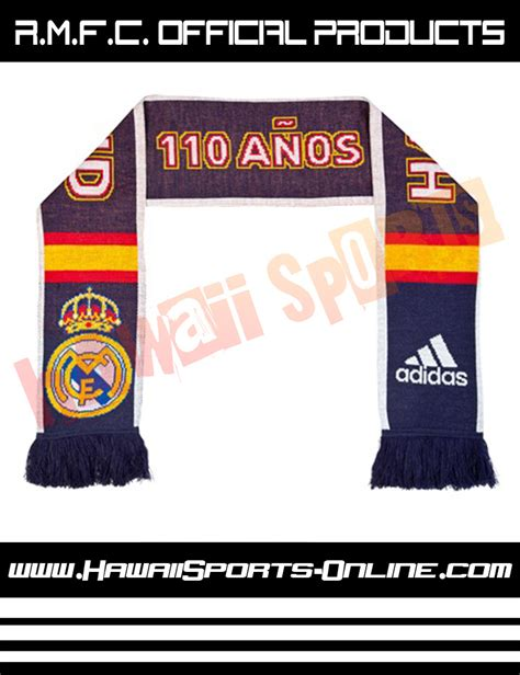 Syal Scarf Slayer Klub Bola Mu Manchester United toko olahraga hawaii sports syal original adidas real madrid 110 anos hala madrid 3 stripe scarf