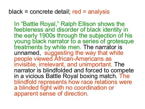 Battle Royal Essay by College Essays College Application Essays Battle Royal Essay