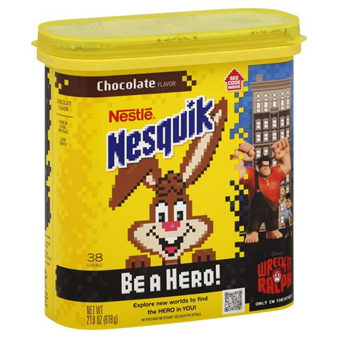 9 Ingredients And Directions Of Nesquik Chocolate Igloos Receipt by Nesquik Nestle Chocolate 21 8 Oz 618 G