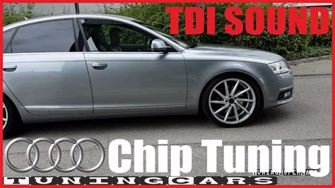 Audi A6 4f 3 0 Tdi Chiptuning by Audi A6 3 0 Tdi 300 Ps Auspuff Sound Exhaust S6 Chip