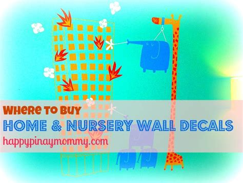 Where To Buy Wall Decals For Nursery Where To Buy Nursery Wall Decals In The Philippines Happy