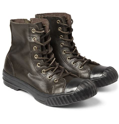 converse boots for lyst converse bosey chuck all leather boots
