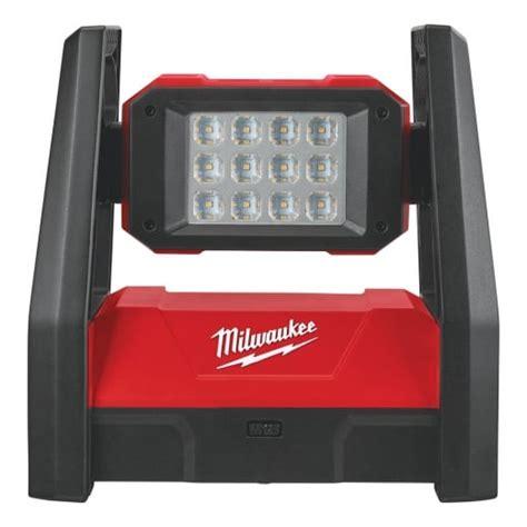 milwaukee 18v work light milwaukee m18hal 0 18v high performance led area work