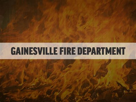 no injuries after vacant house burns in gainesville