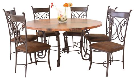 Copper Top Dining Room Tables by Copper Top Dining Room Tables Copper Top Dining Room