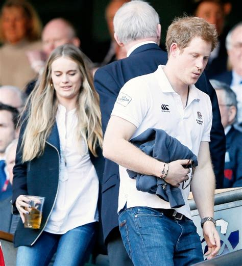 prince harry s girl friend britain s prince harry and girlfriend make it public