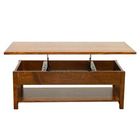 american mission lift top coffee table