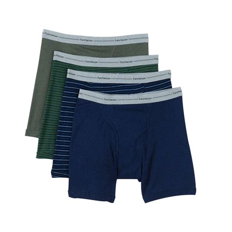 fruit of the loom boxer briefs fruit of the loom s 4 pack boxer briefs