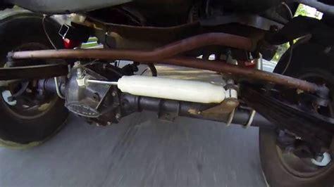 dana  crossover steering stabilizer youtube