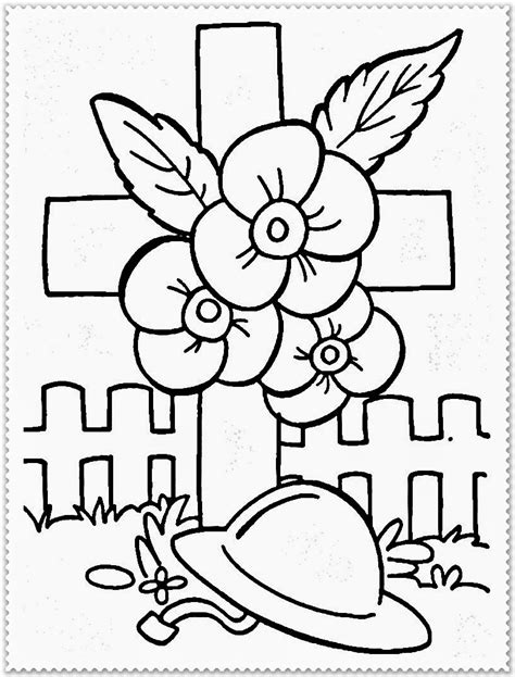 Printable Coloring Pages Remembrance Day | remembrance day coloring pages realistic coloring pages
