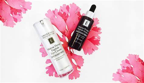 Eminence Handmade Organic Skin Care - eminence organics marine flower peptide collection is