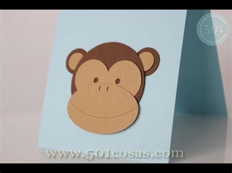 como hacer mo241os de c 243 mo hacer monos de cartulina