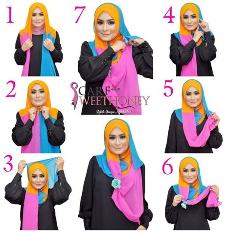 hijab tutorial step by step outfittrends 15 easy and simple hijab tutorials for