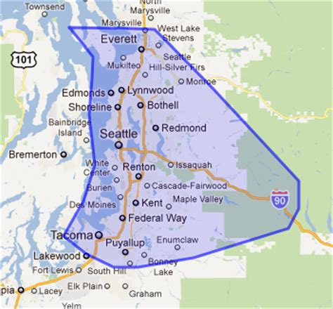 map of seattle area about us american air duct